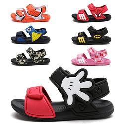 Zapatos de los niños 2018 Verano de dibujos animados Micky y Minnie bebé impermeable sandalias para niñas playa zapatos interior antideslizante zapatillas