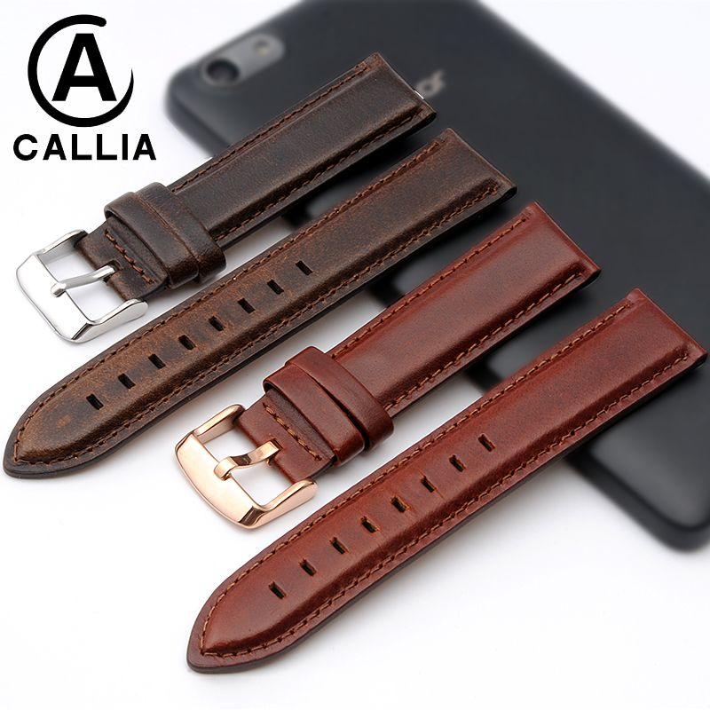High Quality Genuine Calf Hide Leather For daniel wellington watch Strap Band For DW men &women Accessories Watchband 13MM 18MM