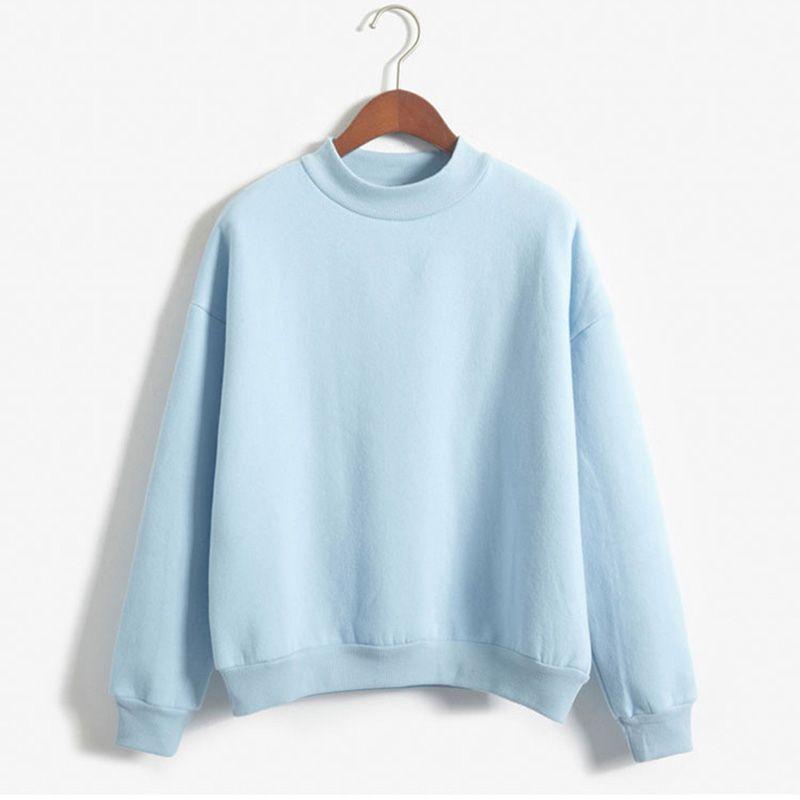 Femmes Hoodies Printemps Automne Casual Sweat À Manches Longues O-cou Pulls Bonbons Manteau Veste Outwear Tops 2017