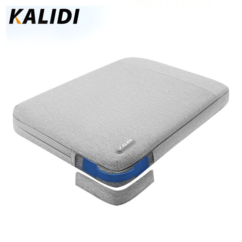 KALIDI Laptop Bag Sleeve 11.6 12 13.3 14 15.6 inch Notebook Sleeve Bag For Macbook Air Pro 13 15 Dell Asus HP Acer Laptop Case