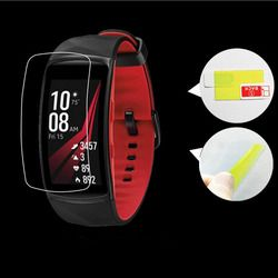 2pcs Anti-scratch Soft TPU Ultra HD Clear Protective Film Guard For Samsung Gear Fit 2 Pro Fit2 Pro Full Screen Protector Cover