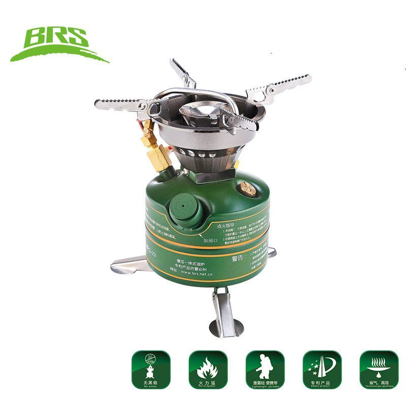 New High Quality Outdoor Camping Cooking Portable Oil Stove Non-Preheat Gasoline Burner Oil Burning Boiler Furnace Cooker BRS29B