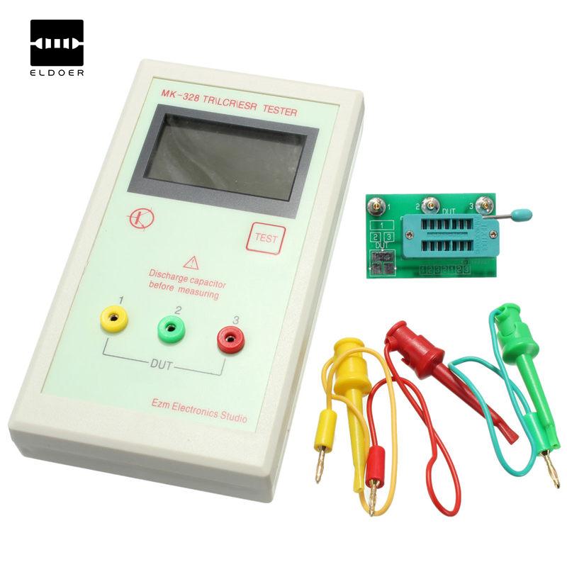 MK-328 TR For LCR ESR Tester Transistor Inductance Capacitance Resistance ESR Meter 83(W) x 152(height) x 34(depth)mm easy use