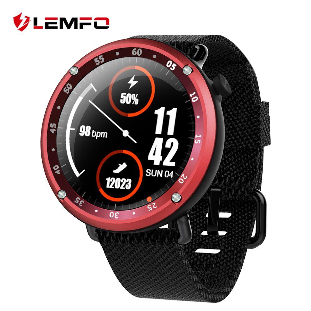 LEMFO LF22 Smart Watch GPS Smartwatch IP67 Waterproof Color Screen Heart Rate Monitor Bluetooth Phone Multiple Sport