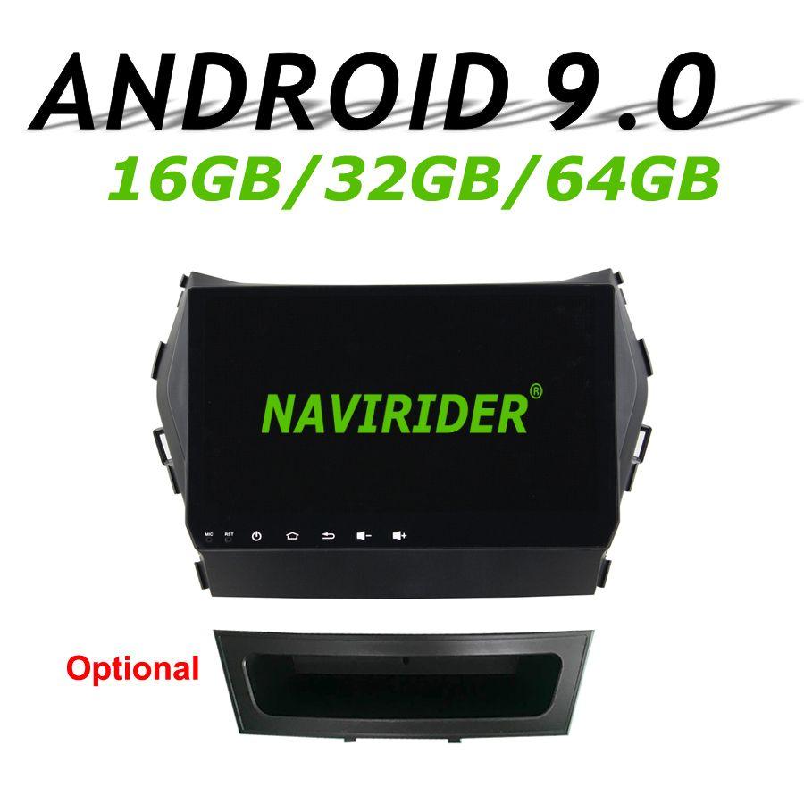 Navirider GPS navigation Für Hyundai Santa fe IX45 2014 touchscreen Auto android 9.0 64 gb rom radio bluetooth-player stereo