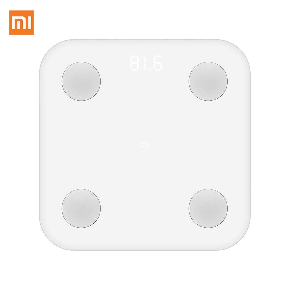 Xiaomi Mi Body Composition Scale, Electronic personal scale, 5kg-150kg range, Square, White
