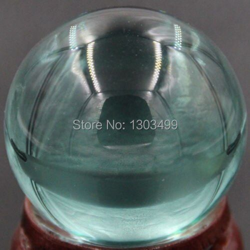 40 MM belle pierre gemme océan bleu obsidienne sphère boule de cristal Chakra guérison Reiki pierre sculpture artisanat W/Stand