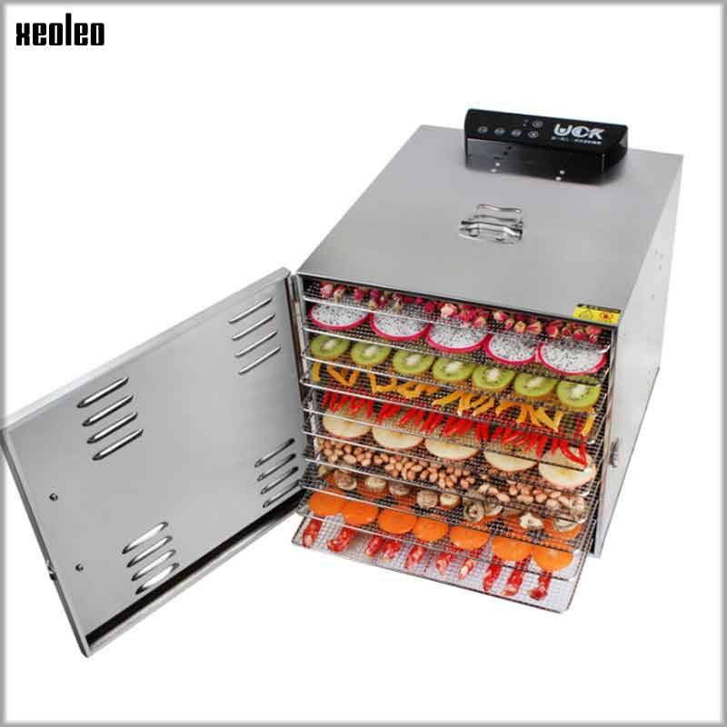 XEOLEO Fruit dryer 10 layers Fruit dry machine Food Air dryer Electric Vegetable dehydrator computer controlled Food Dry Machine