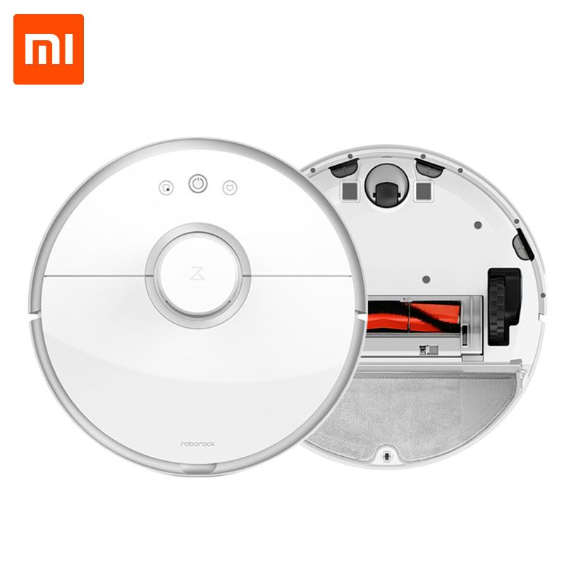 Xiaomi Roborock S50 Mi Robot Vacuum Cleaner 2 Intelligent Sweep and Mop for home WIFI APP Control Smart Planned Auto Charger