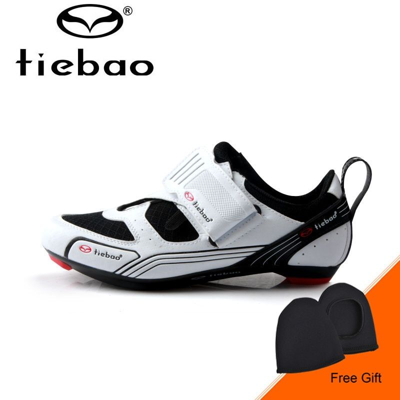 Tiebao Professional Road Bike Shoes Men Breathable Ultralight Road Cycling Shoes Triathlon Athletic Shoes Zapatos bicicleta