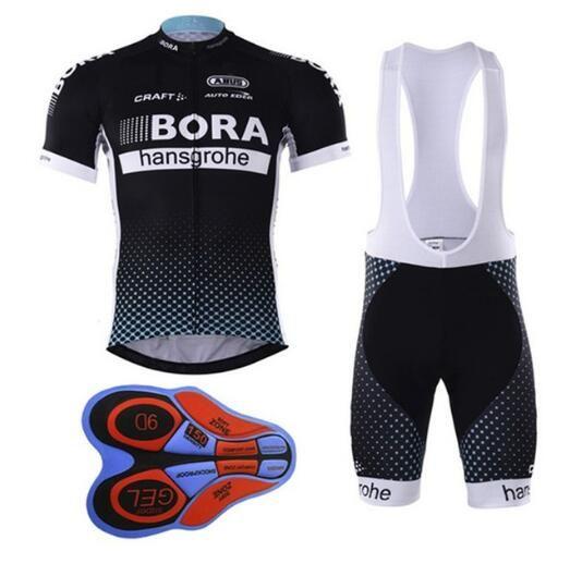 Cycling jersey bora cycling bib shorts Summer Style cycling set Bicycle Quick Drying Short Sleeve Breathable Men's Pro Shirts Bi