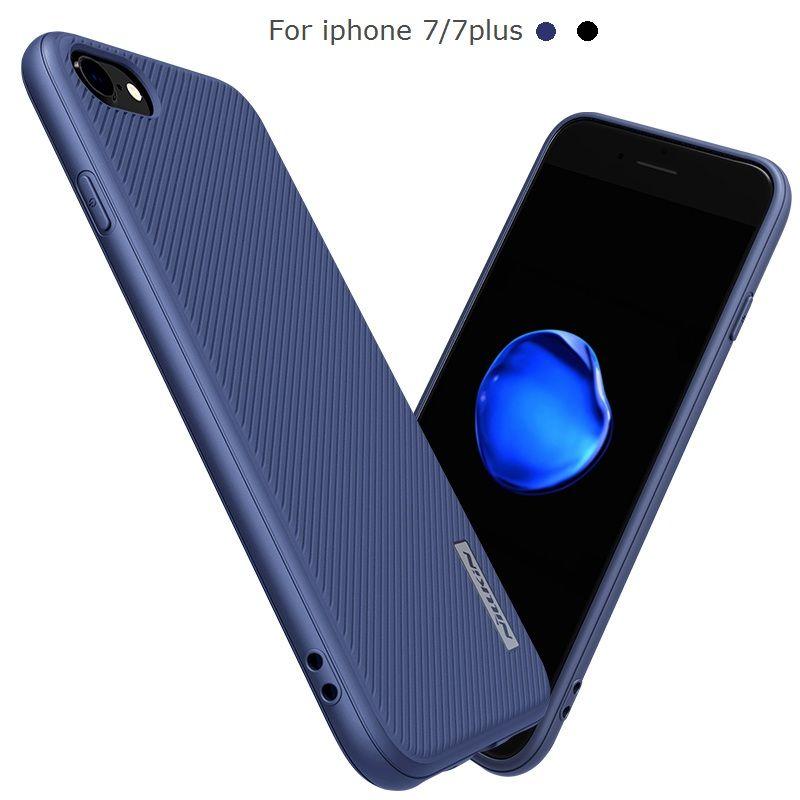 Nillkin Cas Mobile Pour iphone 7 TPU + PC Housse En Silicone pour iphone7 Téléphone Sac Cas soft shell pare-chocs cas pour iphone 7 plus