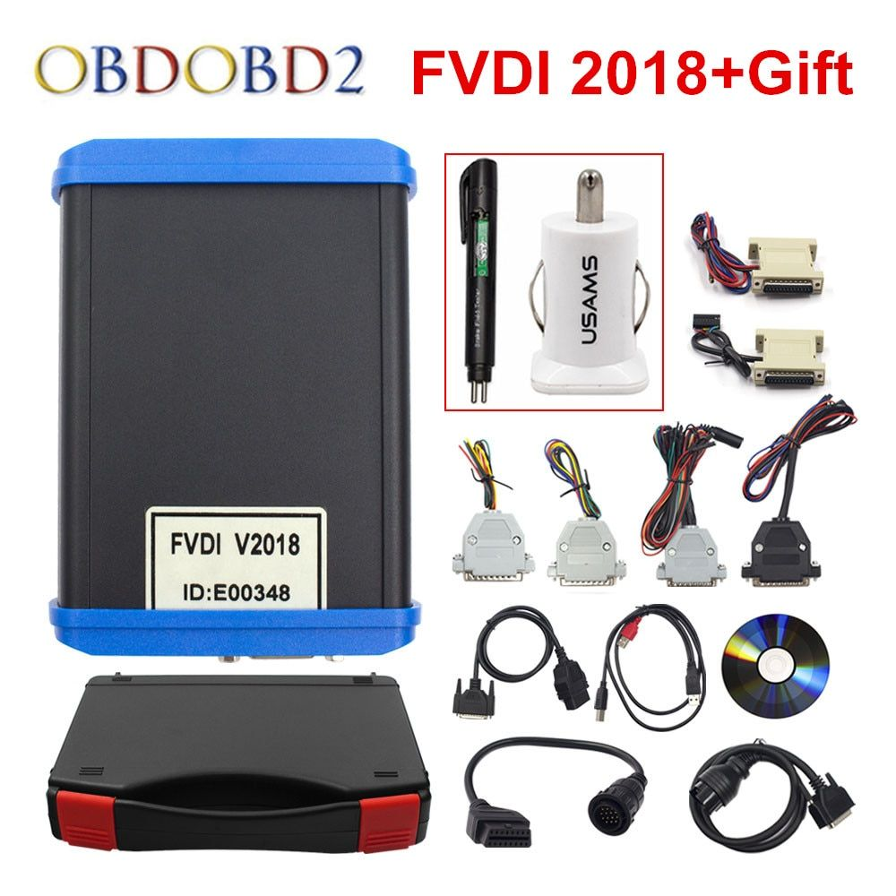 Original FVDI 2018 Full Version (Including 18 Software) FVDI ABRITES ABRITES Commander No Limited FVDI V2014 / V2015 DHL Free