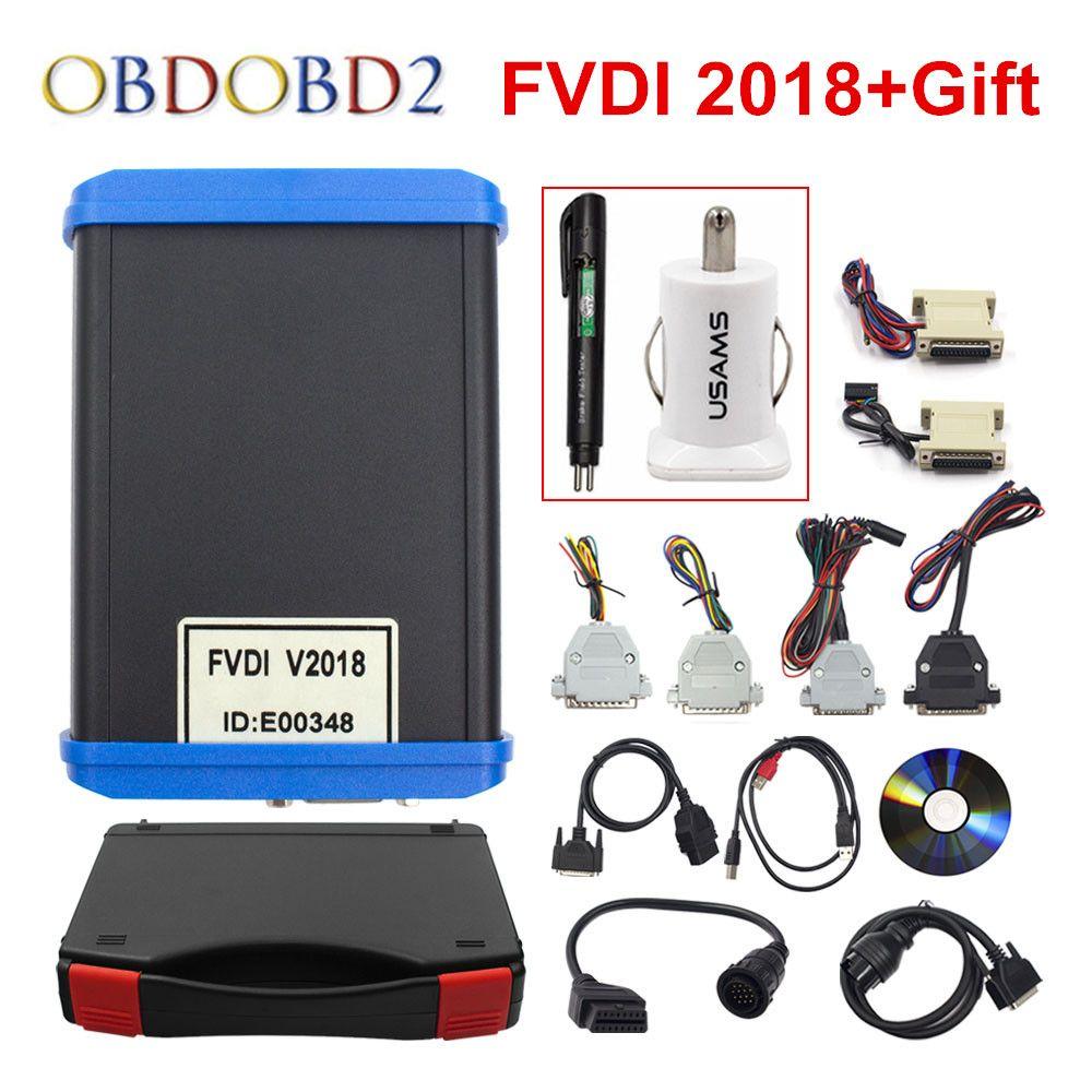 Original FVDI 2018 Full Version (Including 18 Software) FVDI ABRITES ABRITES Commander No Limited FVDI V2014 / V2015 DHL Free