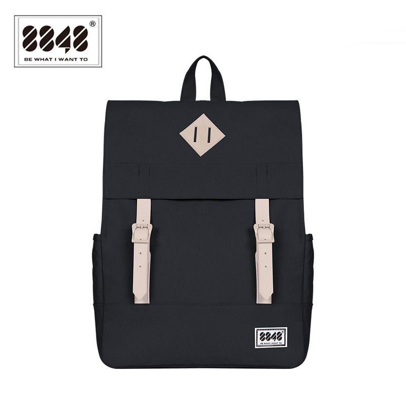 8848 décontracté femmes sac à dos sac d'école femme sac à dos 15.6 pouces ordinateur portable 14.2 L étanche Oxford sac à dos Mochila 173-002-008