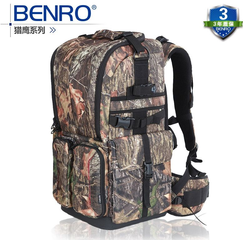 Benro Falcon 800 double-shoulder slr professional camera bag camera bag rain cover