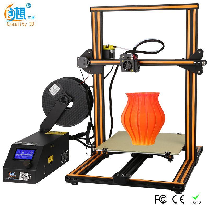 Plus size Creality 3D Printer CR-10S S4 S5 Open Build With Dua Z Rod Filament Sensor/Detect Resume Power Off 3D Printer DIY Kit