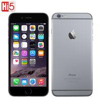 Разблокирована Apple iPhone 6 стандартных/Добавить стекло мобильного телефона 4,7 дюймов Dual Core 16 г/64 г/128 ГБ Rom IOS 8MP Камера видео 4k LTE