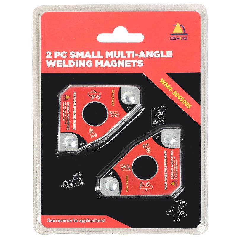 Multi-angle Mini Welding Magnet/Neodymium Magnetic Clamp for Holding 2pcs Twin Pack