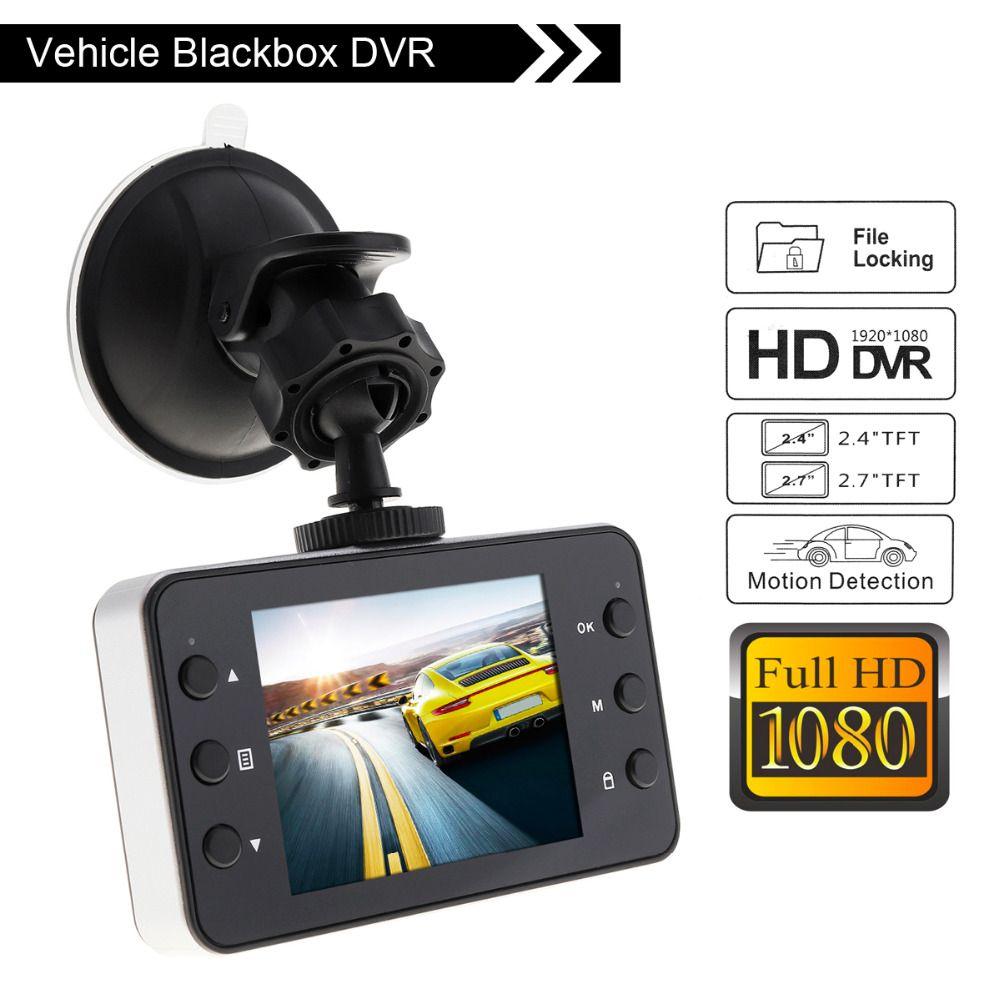 1080 P HD Voiture DVR Caméra Vidéo Enregistreur Caméscope HDMI Infrarouge Nuit Vision G-capteur Automatique de détection de mouvement DVR Dash Cam