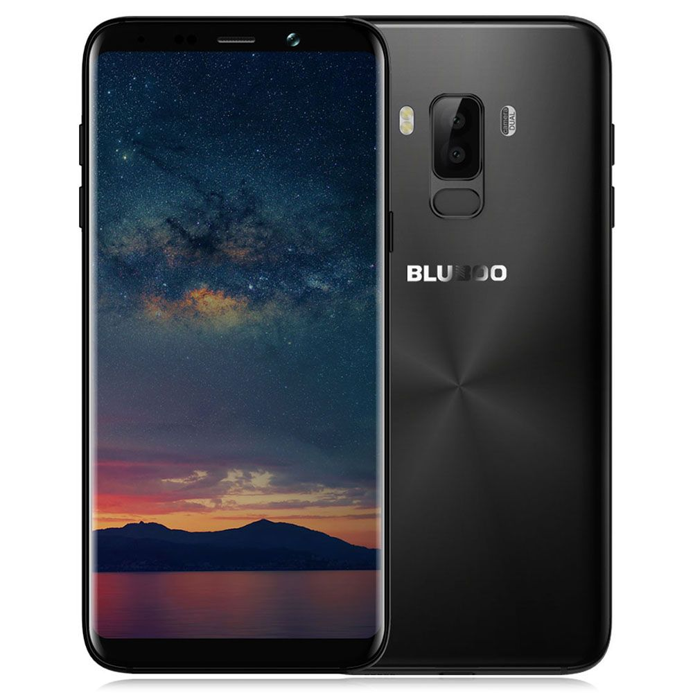 Bluboo S8+ (Plus) 4G Phablet 6.0 inch Android 7.0 MTK6750T Octa Core 1.5GHz 4GB RAM 64GB ROM Full Screen Dual Rear Cameras