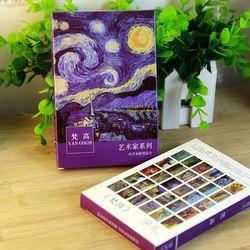 30 feuilles/LOT Van Gogh Peinture À L'huile Carte Postale vintage Van Gogh Peintures cartes postales/Carte De Voeux/Carte De souhaits/Cadeau de mode