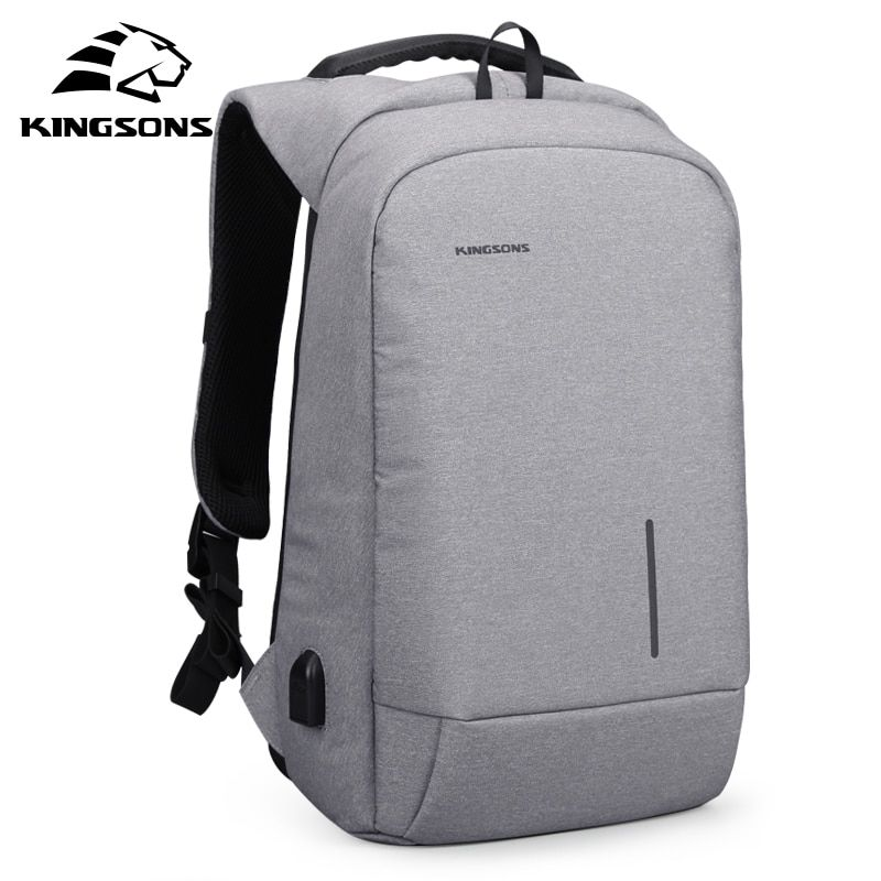 Kingsons New Arrivals 13 15.6 inches Men Laptop Backpack Large <font><b>Capacity</b></font> Backpack Casual Style Bag Water Repellent Backpack Bags