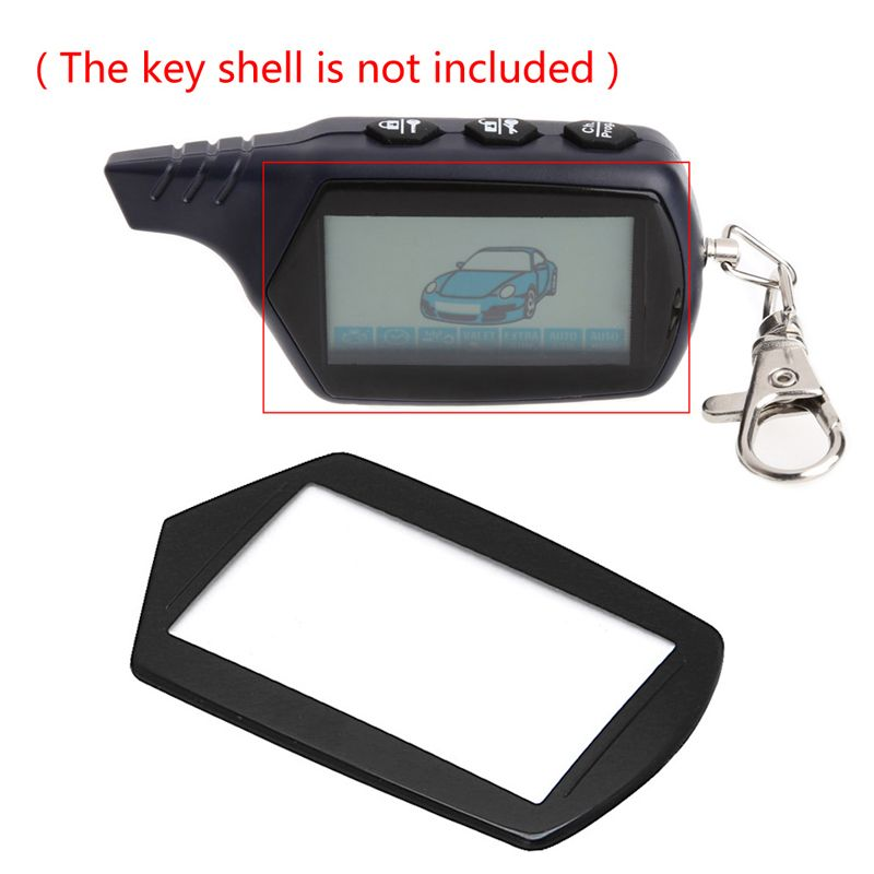 1Pc  B9 LCD Keychain Glass For Starline B9/A91/B6/A61/B61/B91/V7 2-way Remote Controller
