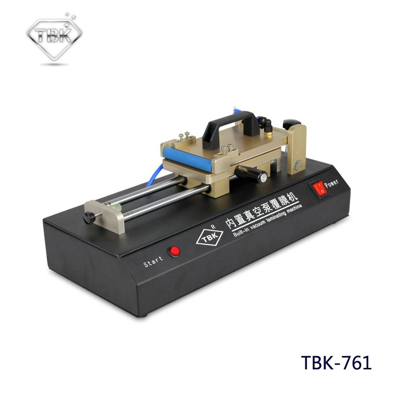 Manuelle OCA Laminator Eingebaute Vakuumpumpe Universal OCA Film Laminieren Maschine Multi-zweck Polarisator für LCD Film TBK-761