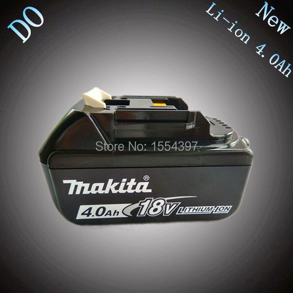 Nouveau 4000 mah Puissance Outil Rechargeable Au Lithium Ion Batterie de Remplacement pour Makita 18 v BL1830 BL1840 LXT400 194205-3 194230-4 BL1815