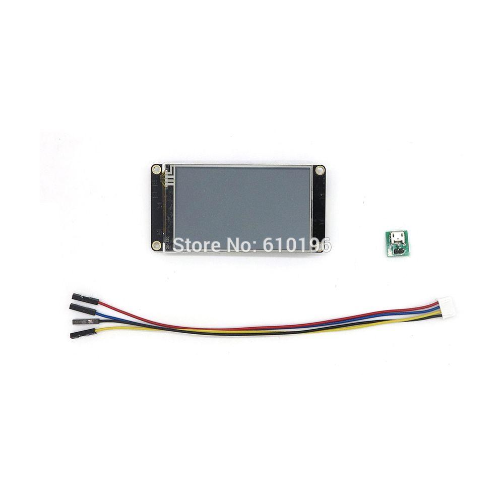 Nextion amélioré 3.2 ''HMI Intelligent Intelligent USART UART série tactile TFT LCD Module panneau d'affichage pour Arduino Raspberry Pi