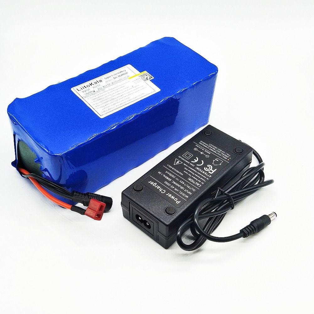 HK Liitokala 36 V 8ah High Capacity Lithium Battery + Mass package include 42 v 2A chager