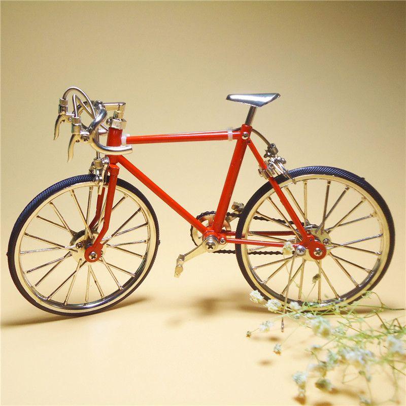 Высокое качество 19.5x12 см DIY ремесленные мини-сплав Велосипедный спорт, может быть Интимные аксессуары для кукольного домика