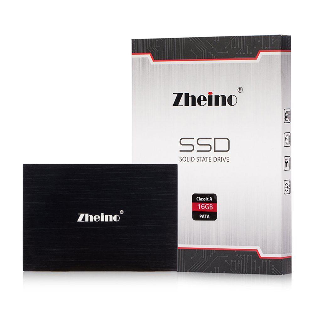 Zheino 2.5 дюймов PATA/IDE SSD 16 ГБ 32 ГБ 64 ГБ 128 ГБ 44PIN MLC Твердотельный диск жесткий диск для ноутбуков Тетрадь