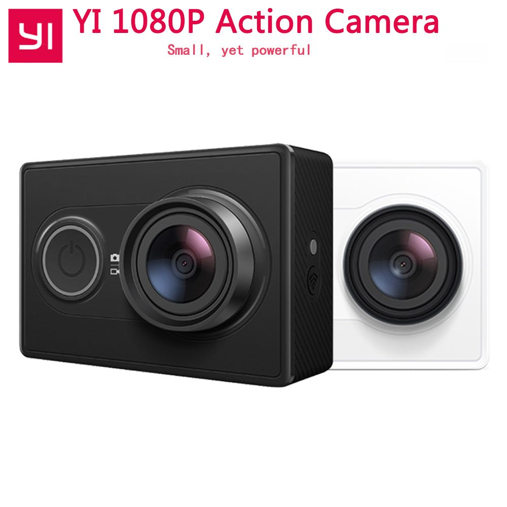 [International Edition]Xiaoyi YI Action Camera WiFi BT4.0 16MP 3D Noise Reduction 60FPS Ambarella A7LS Sports Mini Camera