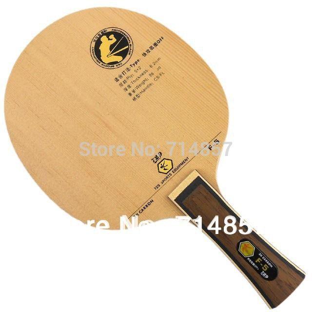 RITC 729 Amistad F-5 (F5, F 5) tenis de mesa/ping-pong de la hoja