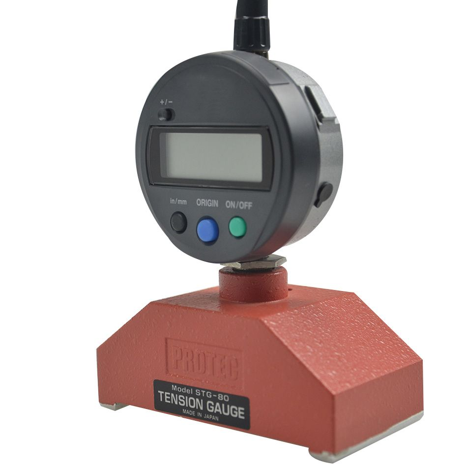 Japan STG-80D stahl mesh spannung meter PROTEC bildschirm spannung meter stg-80d spannung messgerät