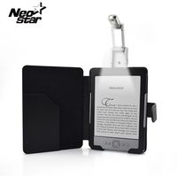 Мода PU кожаный чехол для Amazon Kindle 4 5 Generation электронная книга E Reader 6 дюймов тонкий бумажник планшеты светодио дный светодиодный свет стилусы р...