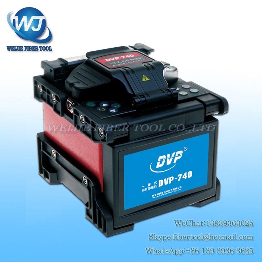DHL/EMS DVP740 FTTH Optical Fiber Fusion Splicer DVP-740 lichtwellenschweissmaschine fusion setzmaschine