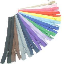 100 pcs 15 / 20 / 25 / 30 cm Multi couleur Nylon Coil fermetures mesure coudre outils accessoires de vêtement