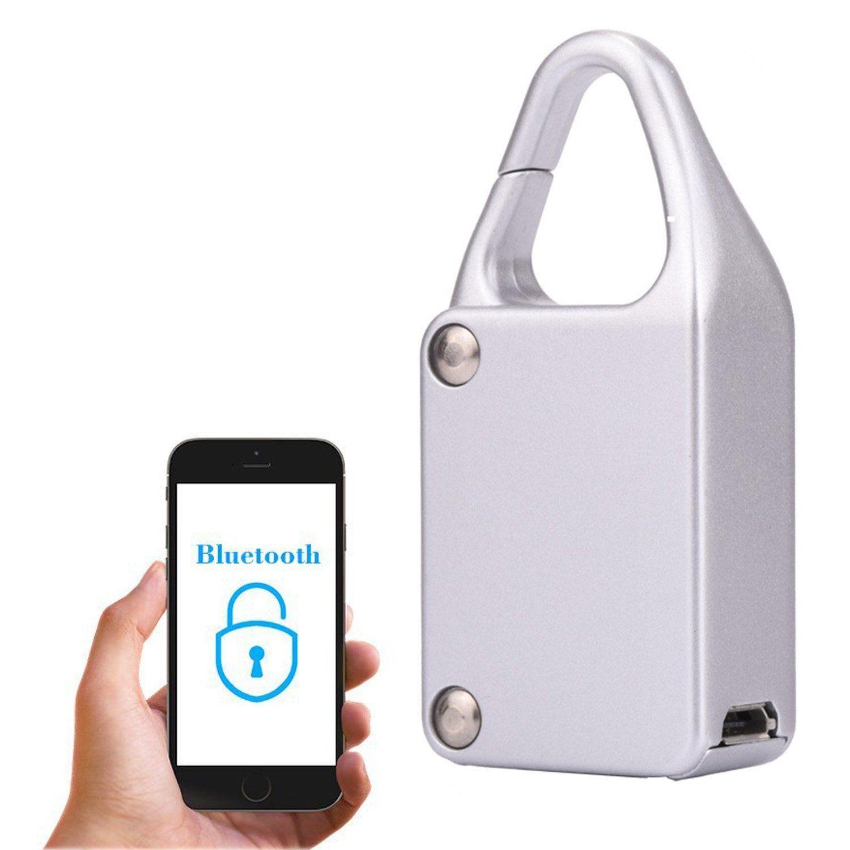 Smart Bluetooth Verriegelung Wasserdichte Keyless-fernbedienung Locker Outdoor Anti-diebstahl-vorhängeschloss für Intelligentes Telefon Android/IOS APP