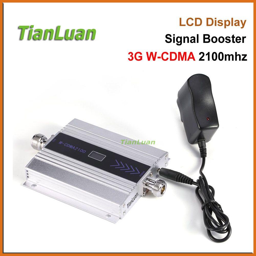 TianLuan Mini W-CDMA Signal Booster 2100 Mhz 3G Répéteur de Signal WCDMA UMTS 3G Signal de Téléphone Cellulaire Amplificateur avec 5 v Alimentation