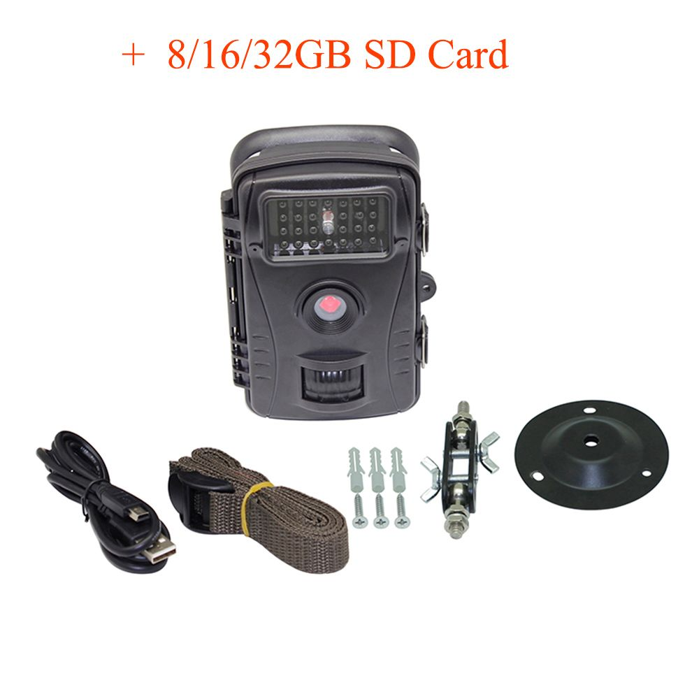 RD1003 Waterproof Motion Detection 940NM Hunting PIR Sensor Control Scouting Infrared Wild Trail Camera 720P Wide Angle