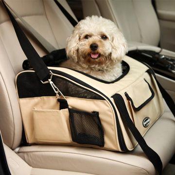 Petcomer pet car bag dog car mat pet dog backpack car bag teddy vip