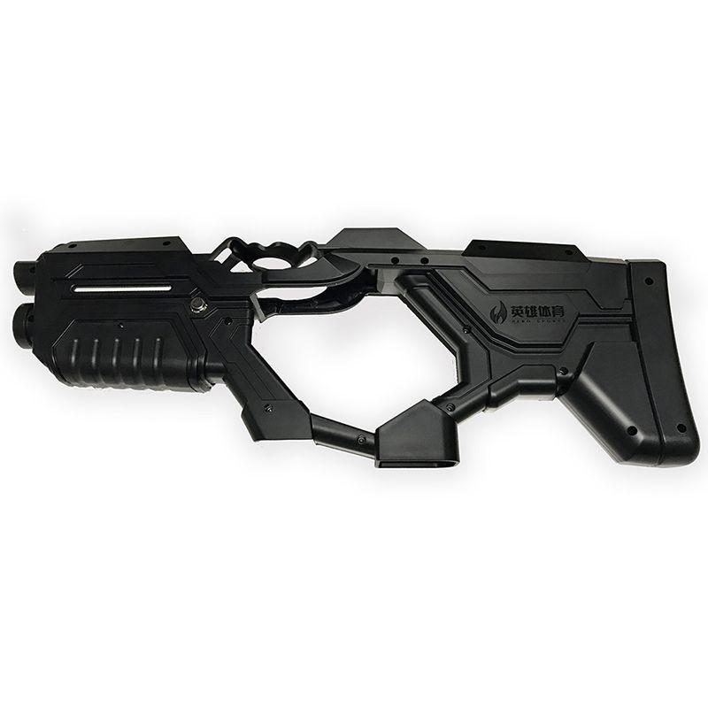 (Schwarz) VR Gun-Controller fall für HTC Vive/Vive Pro Virtuelle Realität Gerät Stream VR Virtuix Omni Spiel schießen pistole