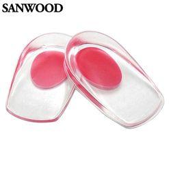 2016 новый гель стельки для обуви подушка задник массаж колодки вставки боль в шпоры силиконовые подпяточник шпора силиконовые стельки для о...