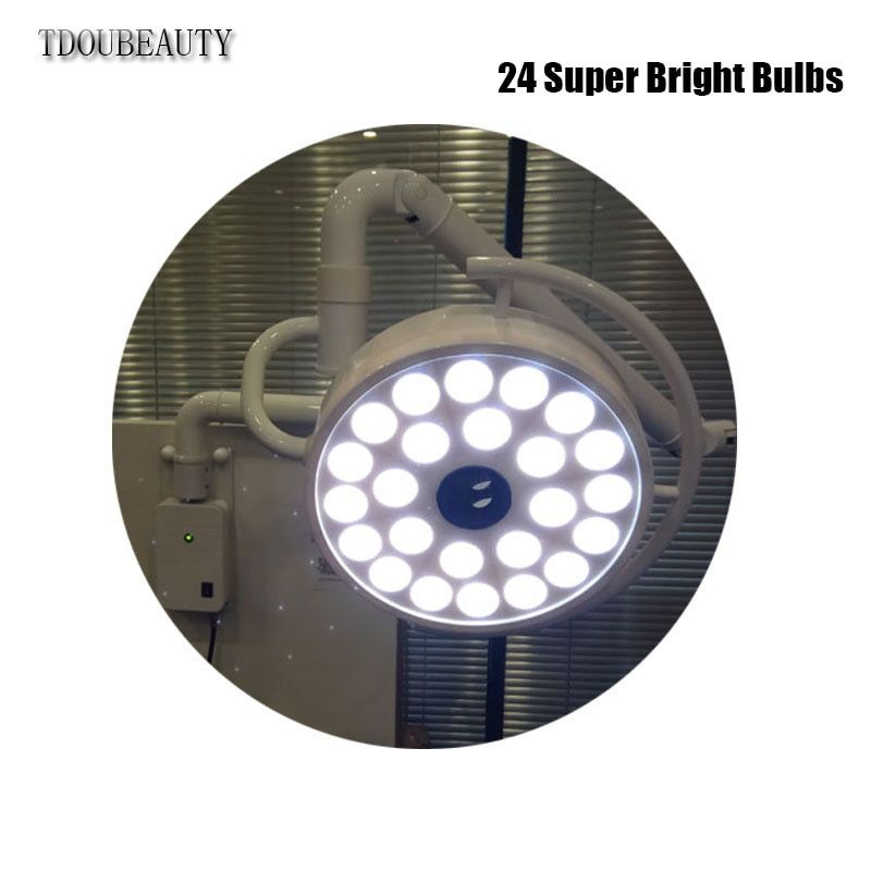 72 watt LED Stomatologie Kalt Licht Schatten Lampe Chirurgische Wand-Montiert Lampe Schönheit Tattoo Pet Chirurgie Schatten Licht Freies