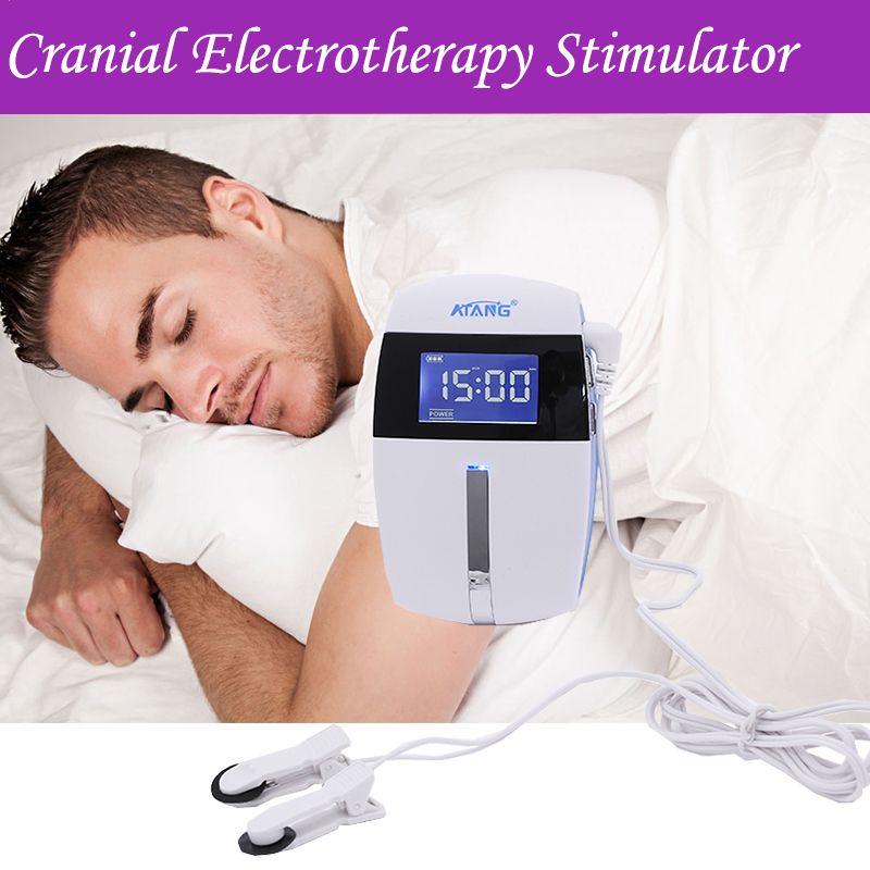 Elektronische Schlafmittel Maschine Schlaflosigkeit Physiotherapie Zehn Therapie Keine Schlaf Angst Depression Schädel Elektro Stimulator