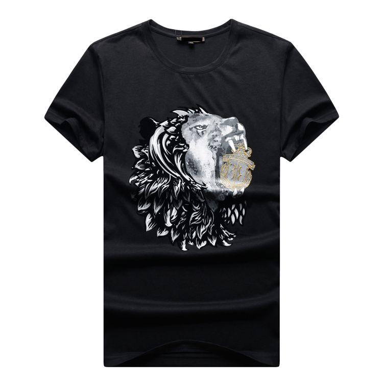 TACE & SHARK Billionaire T-shirt kurzarm 2017 sommer neue mercerisierter baumwolle Lässige dünnschliff komfortable kostenloser versand