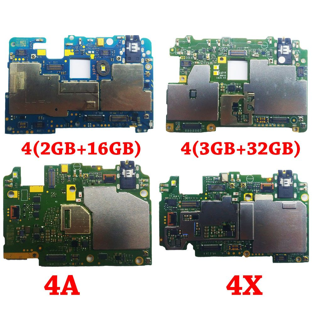 Ymitn Mobile Electronic panel mainboard Motherboard unlocked with chips Circuits flex Cable For Xiaomi RedMi hongmi 4 4A 4X
